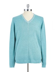 Dkny Classic V Neck Sweater Green