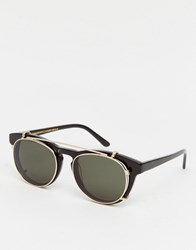 Han Kjobenhavn Sunglasses Timeless Clip On Black