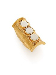 Chloe Djill Long Ring Gold