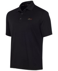 Greg Norman For Tasso Elba Big And Tall 5 Iron Performance Golf Polo Deep Black