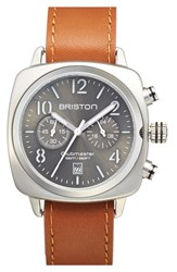 Briston Watches Men's Briston Chronograph Leather Strap Watch 40Mm X 40Mm