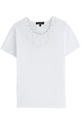 Juicy Couture Embroidered Cotton T Shirt