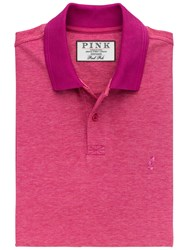 Thomas Pink Payton Multi Polo Shirt Pink