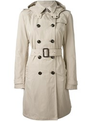 Woolrich Classic Trench Coat Nude Neutrals
