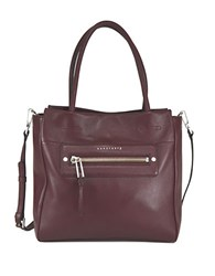 Sanctuary Leather Tote Murberry