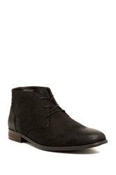 Aldo Cappi Faux Fur Lined Chukka Boot Black