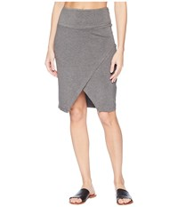 Kavu Sunchaser Charcoal Skirt Gray
