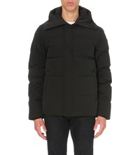 Canada Goose Macmillan Down Filled Shell Parka Black