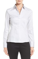 Boss Women's Bashina Stretch Poplin Shirt