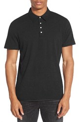 7 Diamonds Men's 'Ultimate' Polo Jet Black