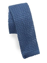 Polo Ralph Lauren Silk Knit Tie Light Blue