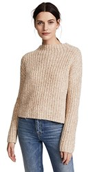 Ayr The Puffball Sweater Heather Oats