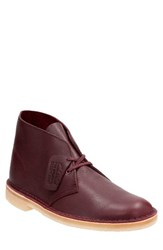 Clarksr Originals Men's Clarks 'Desert' Boot Burgundy Leather
