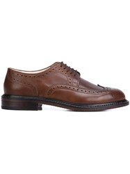 Robert Clergerie 'Roell' Brogues Green