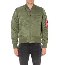 Alpha Bomber Jacket Sage Green