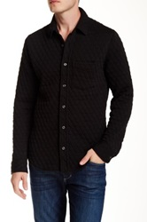 Relwen Quilted Knit Shirt Black
