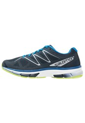 Salomon Sonic Neutral Running Shoes Navy Blazer White Imperial Blue Dark Blue