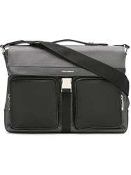 Dolce And Gabbana Flap Messenger Bag Grey