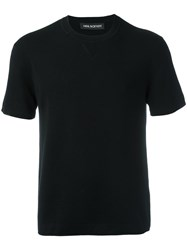 Neil Barrett Short Sleeve Jumper Black