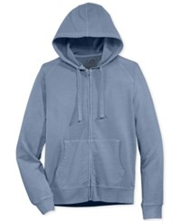 American Rag Men's Washed Fleece Hoodie Only At Macy's Blue Storm