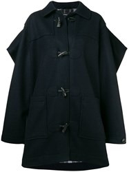 Y Project Oversized Toggle Coat Blue