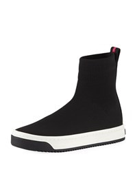 Marc Jacobs Dart Platform Sock Sneakers Black