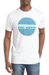 Rip Curl Men's Pump Master Graphic T Shirt White