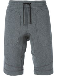Belstaff Drawstring Track Shorts Grey