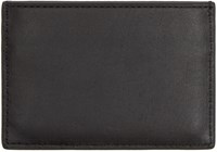 Alexander Wang Black Leather Logo Card Holder