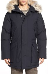 Men's Woolrich 'Teton Explorer' Longline Parka With Genuine Coyote Fur Trim