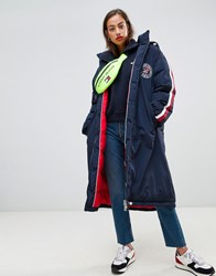 Tommy Jeans Padded Coat Black Iris