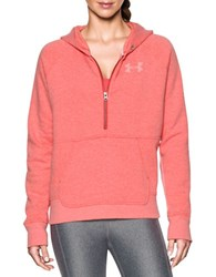 Under Armour Cotton Blend Fleece Hoodie Pink