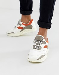 New Look Chunky Trainers In White