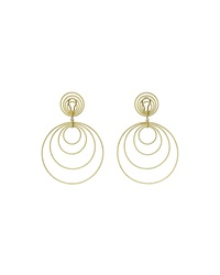 18K Gold Hawaii Double Drop Earrings Buccellati