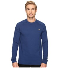 Nike Sportswear Modern Crew Coastal Blue Men's Long Sleeve Pullover