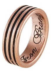 Icon Brand Leader Ring Coppercoloured