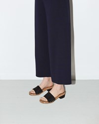 Proenza Schouler Wood Slide Sandal Black