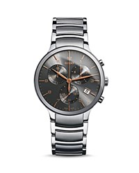Rado Centrix Xl Quartz Chronograph Stainless Steel Watch 44Mm