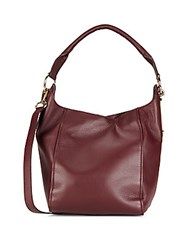 See By Chloe Paige Leather Hobo Bag Perfect Plum