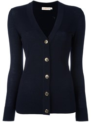 Tory Burch Simone Cardigan Blue