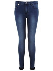 Miss Selfridge Ultra Soft Super Skinny Jeans Mid Wash
