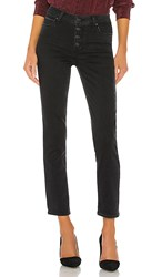 Paige Hoxton Slim Coated. Starlit Black