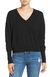Women's Bp. V Neck Crop Pullover