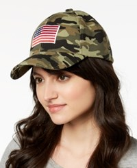 Collection Xiix Flag Patch Baseball Cap Tan
