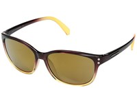 Suncloud Polarized Optics Flutter Brown Fade Sienna Mirror Polycarbonate Lens Sport Sunglasses