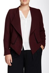 Mynt 1792 Fly Away Jacket Plus Size Brown