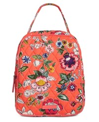 Vera Bradley Signature Lunch Bunch Bag Coral Floral