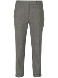 Thom Browne Low Rise Skinny Trousers Wool Grey