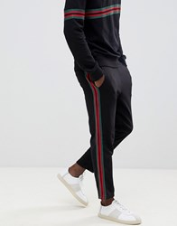 New Look Jogger With Taping In Black