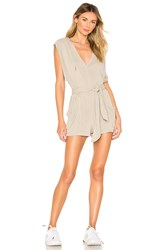 Free People Movement Chop It Up Onesie Green